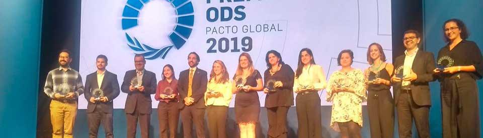Premio ODS del Pacto Global 2019